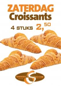 zaterdag croissant